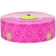 Supacaz Super Sticky Kush Lenkerband neon pink/neon gelb Print